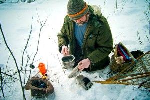 Nick im Schnee